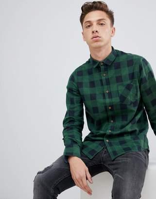Brave Soul Flannel Buffalo Plaid Shirt