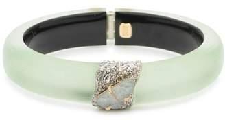 Alexis Bittar Roxbury Pavé & Stone Bangle Bracelet