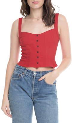 ASTR the Label Charlene Sleeveless Crop Top