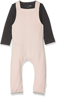 Noppies Baby Girls' G Polyesteraysuit Set Sweat Ispani Bodysuit,6-9 Months