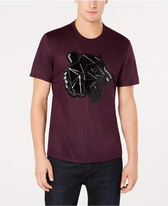 INC International Concepts I.n.c. Men Sequined Panther T-Shirt