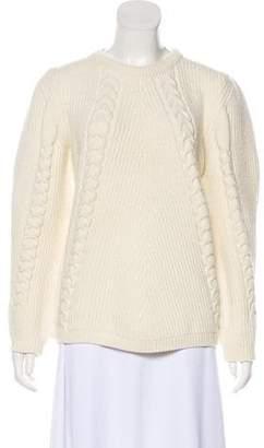3b7ca8a6 Chloé White Long Sleeve Women's Sweaters - ShopStyle