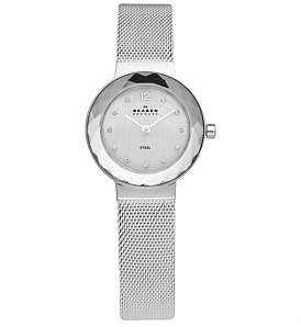 Skagen Silver Tone Stainless Steel Watch