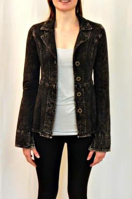 Hard Tail Acid-Washed Fleece Jacket