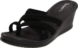 Skechers Cali Women's Rumblers-Beautiful People Wedge Sandal