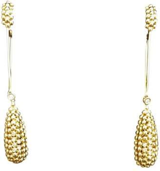 H.Stern 18K Yellow Gold Brazilian Made Earrings
