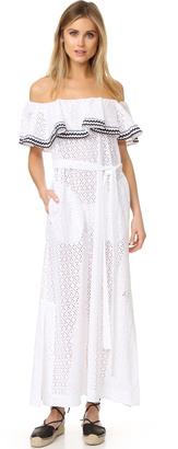 Lisa Marie Fernandez Mira Flounce Dress $830 thestylecure.com