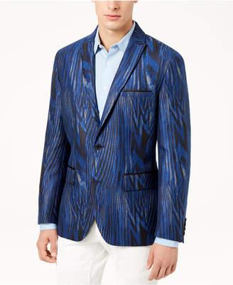 INC International Concepts I.n.c. Men's Slim-Fit Jacquard Blazer, Created for Macy's