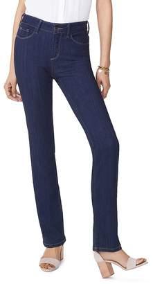 NYDJ Marilyn Straight-Leg Jeans in Mabel