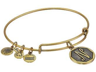 Alex and Ani Initial N Charm Bangle Bracelet