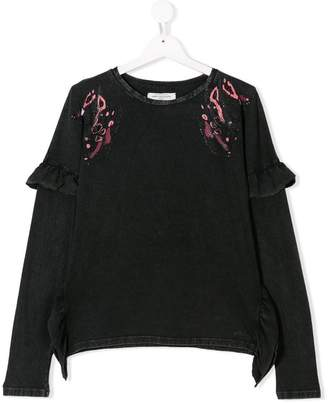 John Galliano TEEN printed sweatshirt