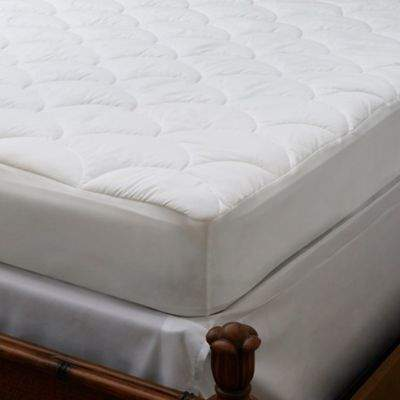 Stay Cool Performance King Mattress Pad in White