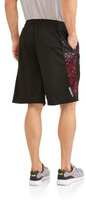 AND 1 Men's Polyester Three Pointer Basketball Gym and Workout Shorts