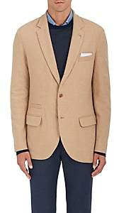 Loro Piana Men's Camel-Hair Three-Button Sportcoat-Camel