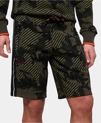 Superdry Men Textured Camo Shorts