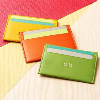Noble Macmillan Personalised Leather Card Case