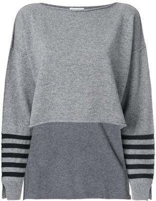 Sonia Rykiel striped cropped jumper