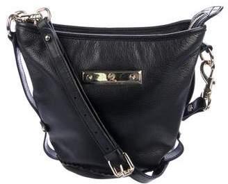 Alexander McQueen Leather Bucket Shoulder Bag