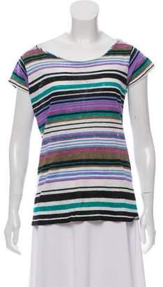 Calypso Linen Stripe Top