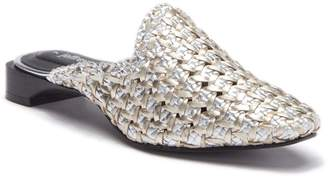 Jeffrey Campbell Leather Woven Mule