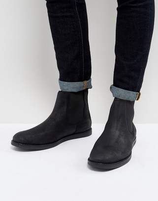 Original Penguin London Chelsea Boots In Black