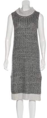 Rag & Bone Wool-Blend Turtleneck Sweater Dress