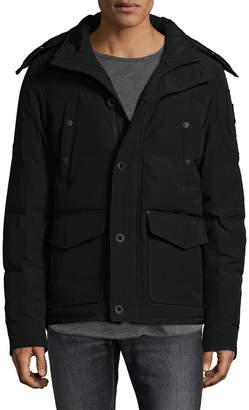 Moose Knuckles Algonquin Silver Fox-Trimmed Jacket
