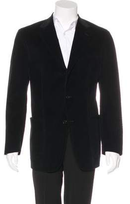Burberry Corduroy Three-Button Blazer
