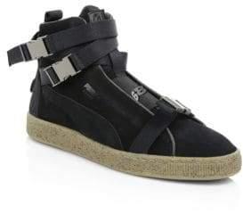 Puma The Weekend High-Top Suede Sneakers