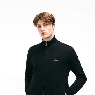 Lacoste Men's Zip Stand-Up Collar Sweatshirt