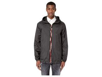 DSQUARED2 Nylon Zipped Hooded Pullover