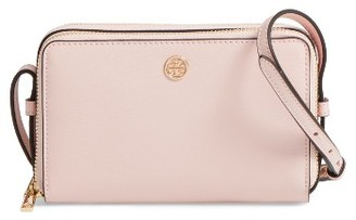 Tory Burch Mini Parker Leather Crossbody Bag - Pink $278 thestylecure.com
