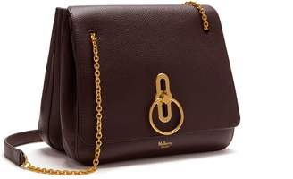 Mulberry Marloes Satchel Oxblood Small Classic Grain