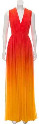 Elie Saab Silk Sleeveless Evening Gown w/ Tags