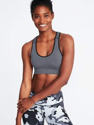 Old Navy Light Support Seamless Racerback Sports Bra for Women