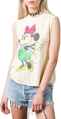 Recycled Karma Minnie Mouse Graphic Muscle Tee