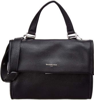 Balenciaga Tools Small Leather Satchel