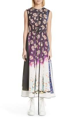 Marc Jacobs Floral Degrade Photo Print Dress