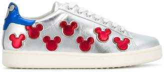 Moa Master Of Arts metallic Mickey Mouse sneakers