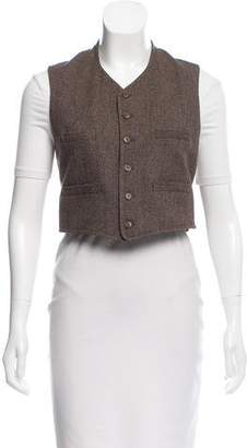 Ralph Lauren Cropped Wool Vest
