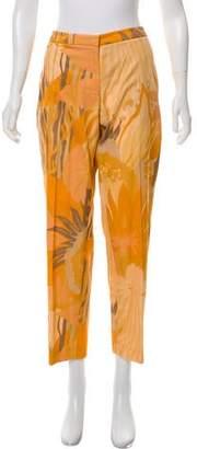 Dries Van Noten Printed Mid-Rise Pants w/ Tags