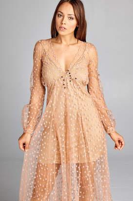 Racine Star-Spangled Tulle Dress