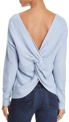 Endless Rose Twist Back Sweater $78 thestylecure.com