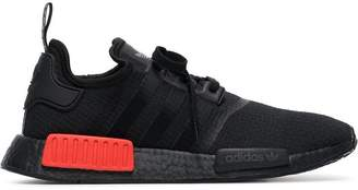 adidas black and red NMD R1 sneakers