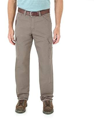 Wrangler Men's Big and Tall Cool Vantage Cargo Pant,46x34