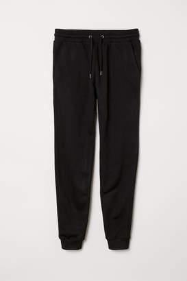 H&M Skinny Fit Joggers - Black