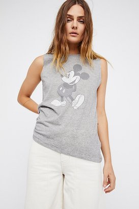 Mickey Mouse Tank by Disney Collection x David Lerner at Free People $58 thestylecure.com