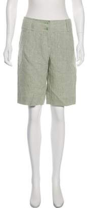 Etro Mid-Rise Knee-Length Shorts