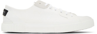 Givenchy White Tennis Light Low Sneakers