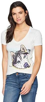 The Mountain Women's Tri-Blend V-Neck Russo SIB Husky T-Shirt